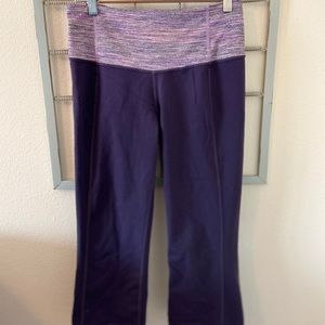 Lululemon Athletica Active Capris size 8